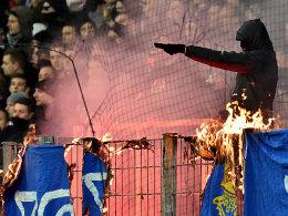 Darmstadt erl�sst Innenstadtverbot f�r Eintracht-Fans