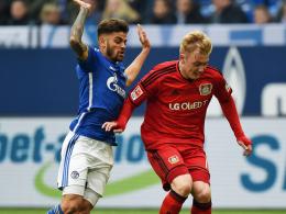 Schalkes Junior Caicara glaubt noch an Platz vier
