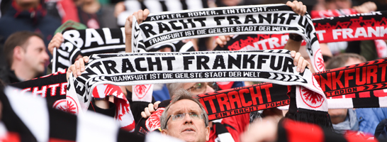 Dürfen sich nicht in Darmstadts Innenstadt begeben: Frankfurts Fans.