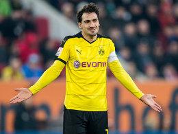 Er sorgt bei Dortmunder Fans f�r erhitzte Gem�ter: Mats Hummels.