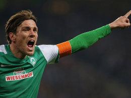 Werder-Kapit�n Fritz h�ngt noch ein Jahr dran!