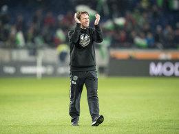 Trotz Abstieg: 96-Fans honorieren Stendel-Fu�ball
