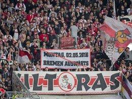 Stuttgarter Fan-Demo vor Boykott