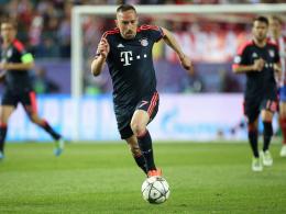 Ribery gegen Gladbach fraglich