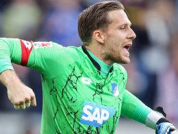 Hoffenheims Torwart Oliver Baumann