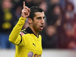 Spielt eine überragende Saison: Borussia Dortmunds Vorlagen-König Henrikh Mkhitaryan.