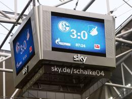 Schalke-Arena bekommt wieder gr��ten Videow�rfel Europas
