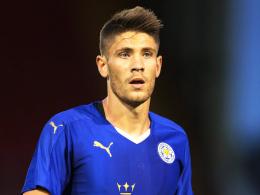 Englischer Meister: Hoffenheims Andrej Kramaric ist von Leicester City ausgeliehen.