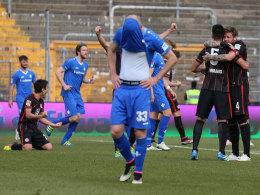 Luca Caldirola enttäuscht