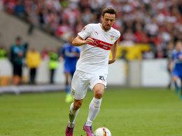 Gentner geht voran, Ginczek folgt: VfB-Duo verl�ngert
