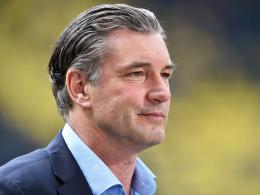 """""""Wir sind einfach mal dran"""": Dortmunds Sportdirektor Michael Zorc vor dem Pokalfinale gegen den FC Bayern."""