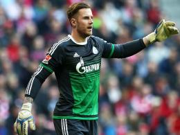 Blickt mit speziellen Gefühlen auf den Leipziger Erfolg: Schalkes Torhüter Ralf Fährmann.