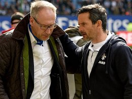 Schuster informiert Fritsch �ber Augsburg-Anfrage