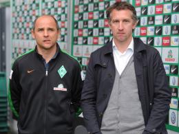 Viktor Skripnik und Frank Baumann