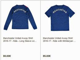 Manchester United verkauft schon Mkhitaryan-Trikots
