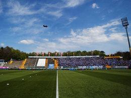 Lilien-Stadion: Standort