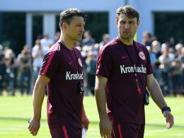 Kovac �ber Tawatha, Rebic, Hrgota und Bobic