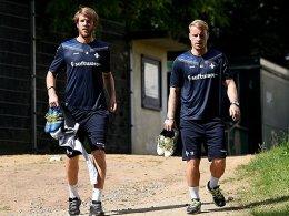 Holland schon wieder im Training - Beschwerden bei Platte