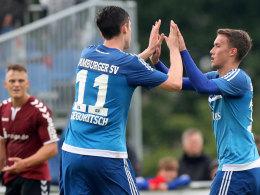 Variabilit�t ist Trumpf: HSV fertigt Flensburg ab