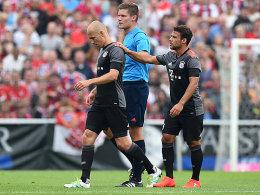 Wieder verletzt: Bayern sorgen sich um Robben
