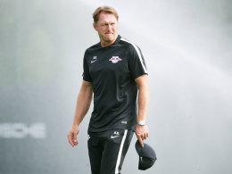 Schrauben, Steine, Spr�hereien: �rger vor RB-Leipzig-Test