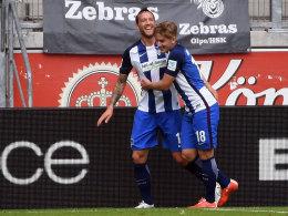 Tandem Kurt-Schieber rettet Hertha den Turniersieg