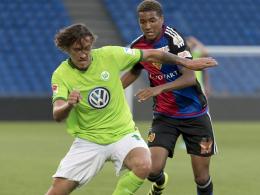 Wolfsburgs Stürmer treffen - Taktik-Tüftler Hecking