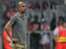 Erstmals seit seinem Wechsel zu ManCity wieder in der Allianz-Arena: Pep Guardiola.
