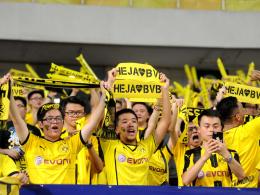 Große Fangemeinde und Potenzial in China: Borussia Dortmund.