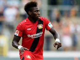 Planmäßiger operativer Eingriff: Leverkusens Abwehrspieler Danny da Costa.