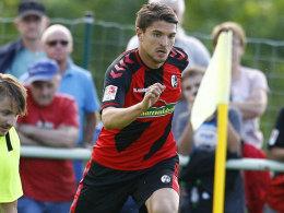 Wünscht sich in Freiburg mehr Spielzeit: Aleksandar Ignjovski.