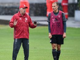 Calor Ancelotti und Holger Badstuber