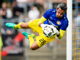Back-up für Nationaltorhüter Bernd Leno: Leverkusens Neuzugang Ramazan Özcan.