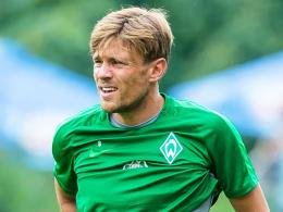"""""""Wir wollen nach vorne schauen"""": Bremens Kapitän Clemens Fritz ist zuversichtlich."""