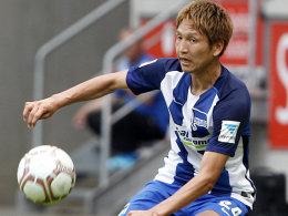 Allagui vom Punkt: Hertha schl�gt Braunschweig