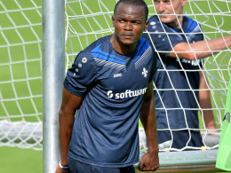 Obinna am Ziel in Darmstadt