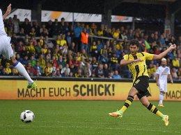 BVB mit G�tze und Sch�rrle 1:1 gegen Sunderland