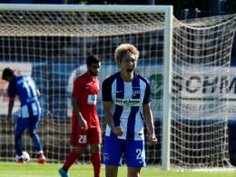Haraguchi f�hrt Hertha zum Testspielsieg