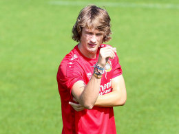 Jedvaj bricht das Training ab