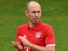 Robben arbeitet am Comeback