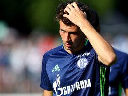 Goretzka trainiert schon wieder in Königsblau