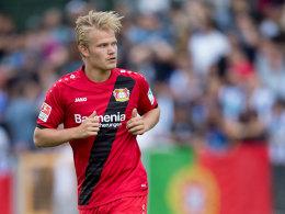 Will sich in Leverkusen durchbeißen: Joel Pohjanpalo.