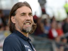 """""""Das ist direkt ein Knaller"""": Der Mainzer Coach Martin Schmidt freut sich auf Dortmund."""