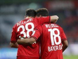 Bellarabi und Wendell bleiben der Werkself treu