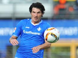 Steht noch bis 2017 unter Vertrag: Darmstadts Angreifer Dominik Stroh-Engel.