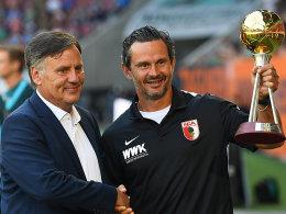 Trainer des Jahres 2016: Dirk Schuster geehrt