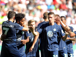 Wolfsburger Jubel
