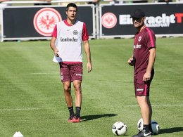 Medojevic gibt Trainingscomeback
