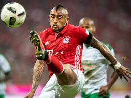 Bei Vidal könnte es gegen Schalke knapp werden