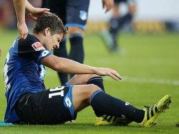 Herber Rückschlag für Hoffenheims Schwegler